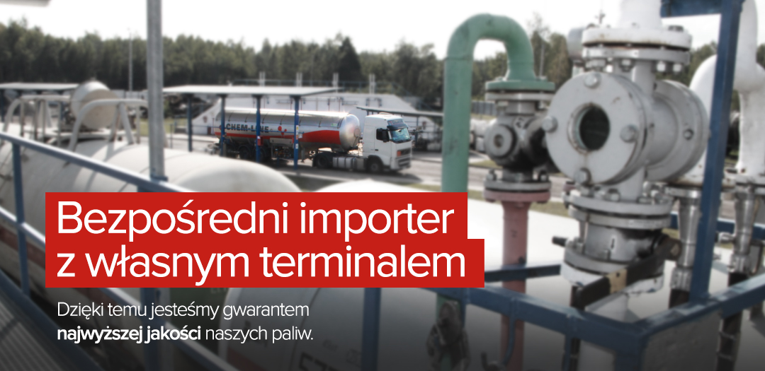 Terminal przeładunkowy gazu propan
