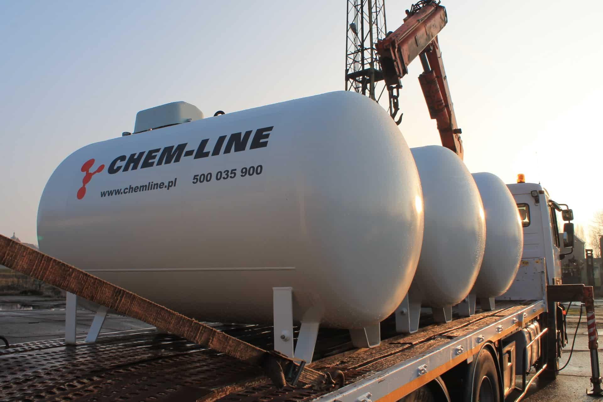Aktualne Zbiorniki | Ogrzewanie • Gaz • CHEM-LINE FV24
