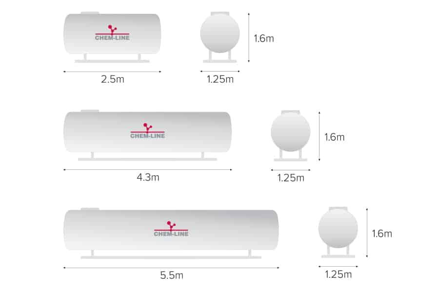 Inne rodzaje Zbiorniki | Ogrzewanie • Gaz • CHEM-LINE HO72
