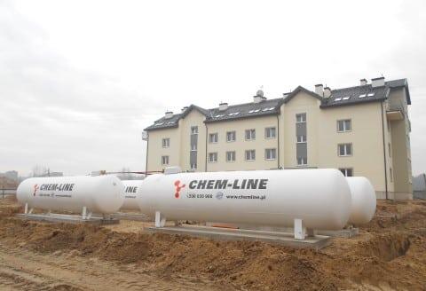 Zbiorniki na gaz propan
